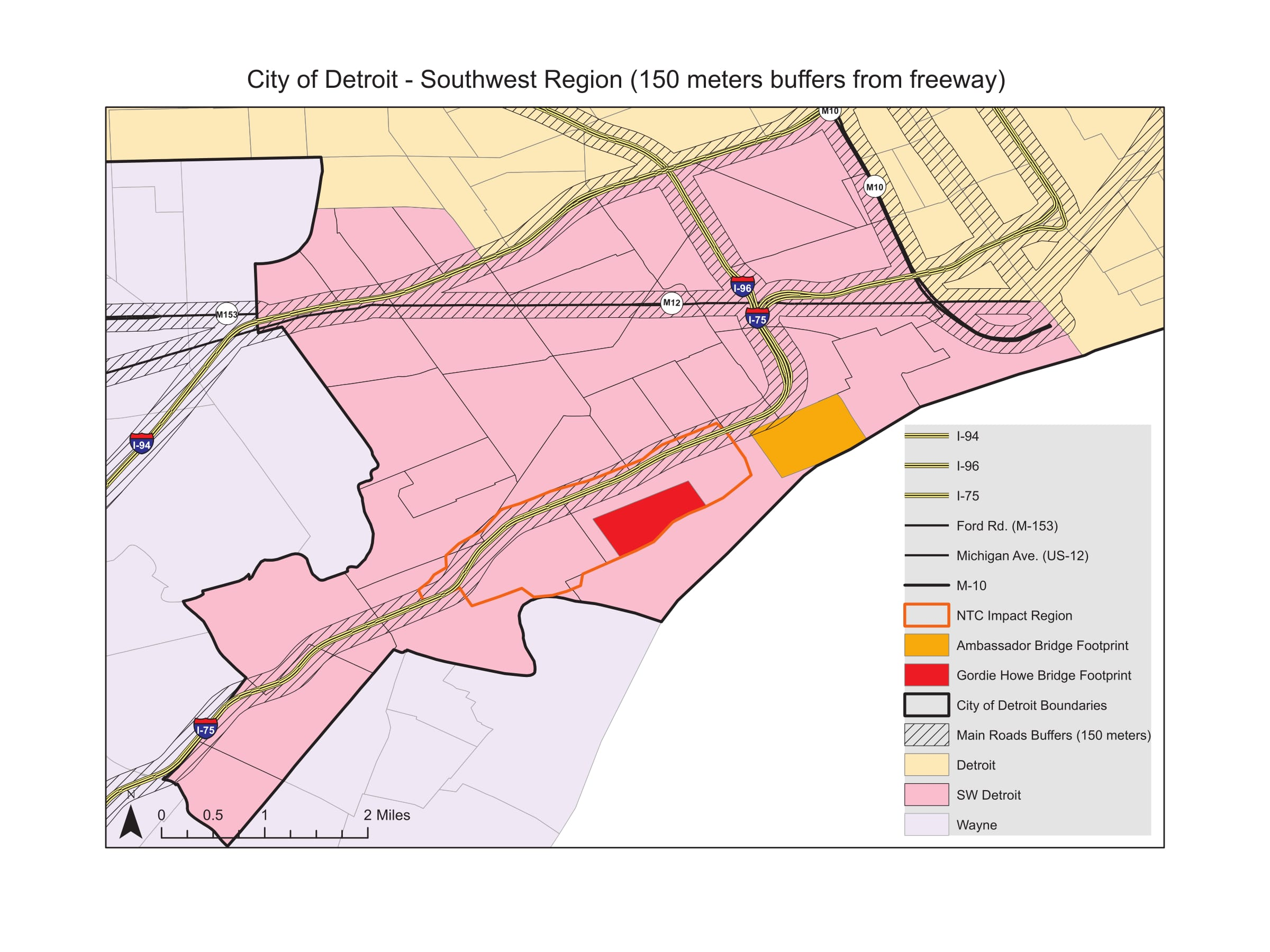 Area Specific Maps And Tables U2013 Southwest Detroit | CA-PHE
