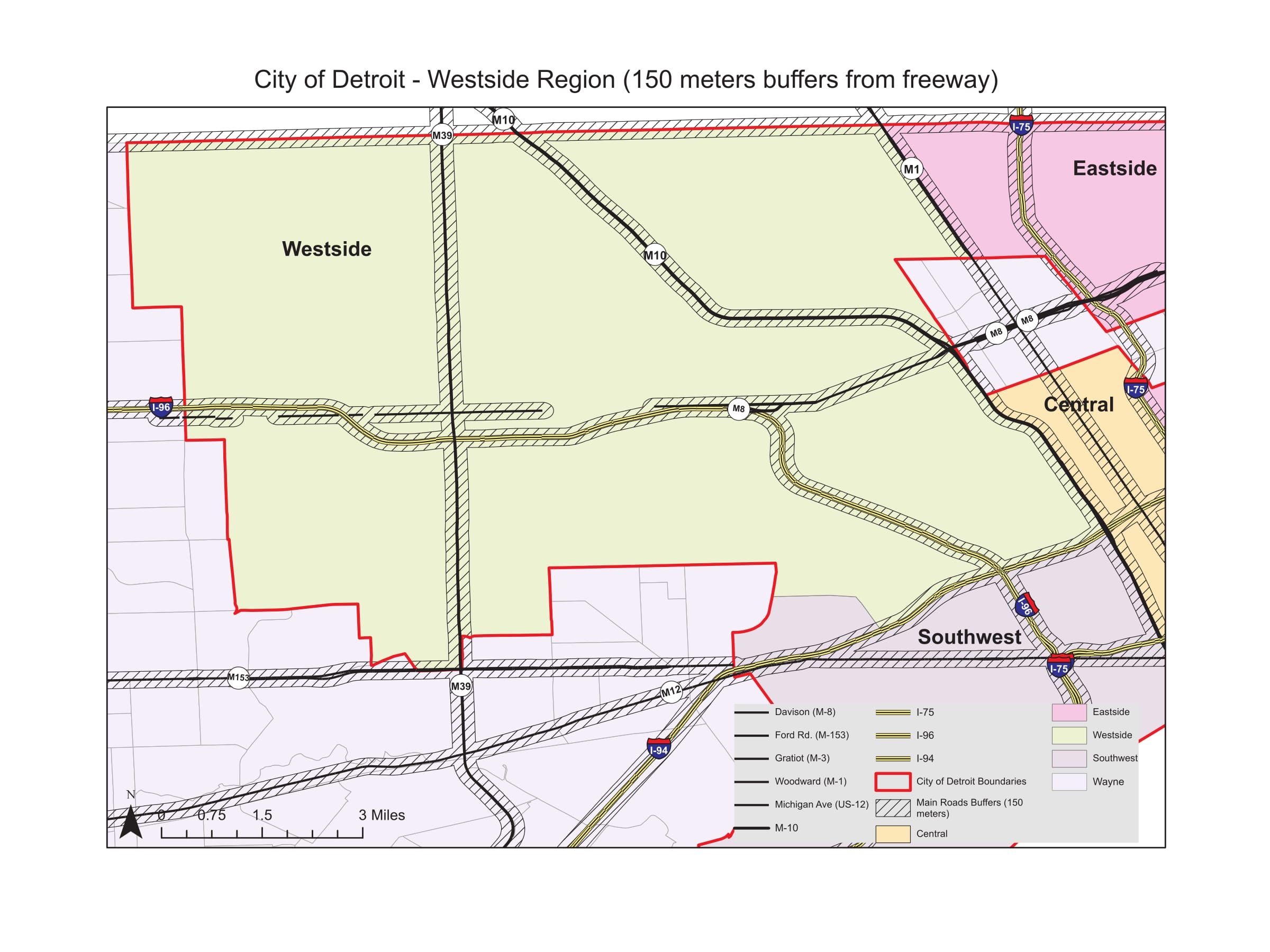 Area Specific Maps and Tables – Westside Detroit | CA-PHE on