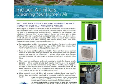 Indoor Air Filters